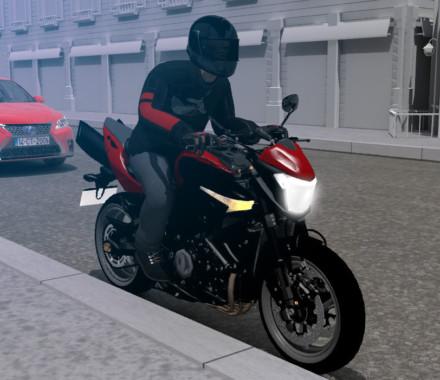 Risques à moto